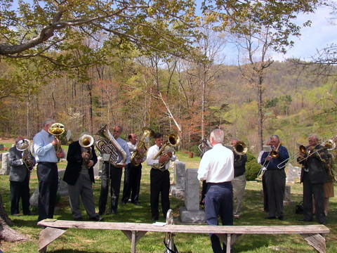 Willow Hill Moravian Church Band