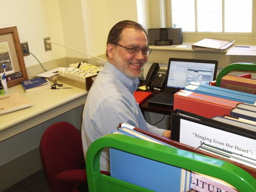 Dave Blum, Research Librarian
