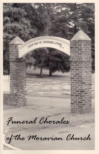 Moravian Funeral Chorales
