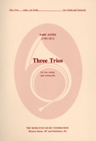 Three String Trios for two Violins and Cello